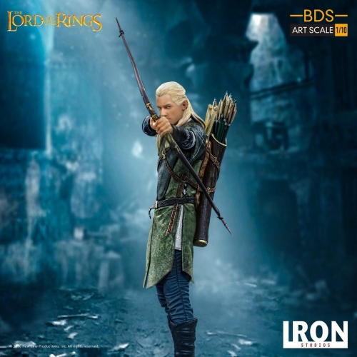 (Pre-order)Iron Studios Legolas BDS Art Scale 1/10 Lord of the Rings