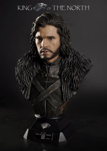 (Sold out)Wuming Studio Game of Thrones Jon Snow 1/2 Bust Statue