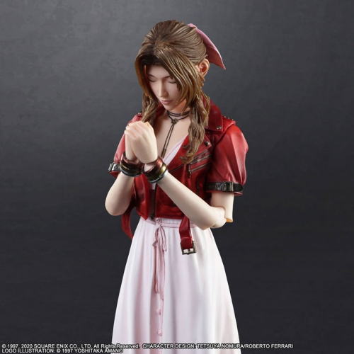 (Pre-order)Final Fantasy VII Remake Aerith Gainsborough PLAY ARTS Kai Version Action Figure