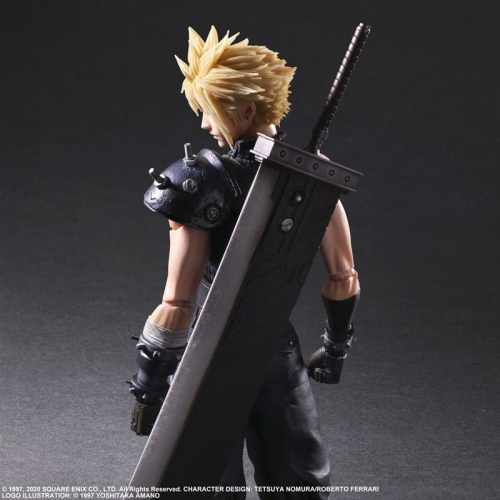 (Pre-order)Final Fantasy VII Remake Cloud Strife PLAY ARTS Kai Version 2 Action Figure