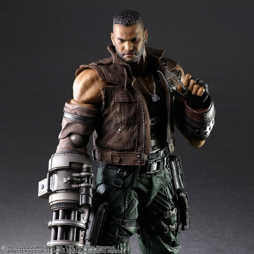 (Pre-order)Final Fantasy VII Remake Barret Wallace PLAY ARTS Kai Version 2 Action Figure