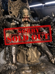 (Sold out)MUSES69 Studio Predator on throne 1/4 GK Resin Statue