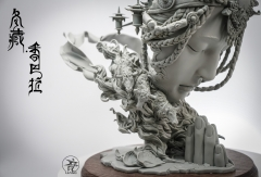 (Pre-order Closed)The Winter Tibet Artwork by Yuan Xingliang (Grey Model)