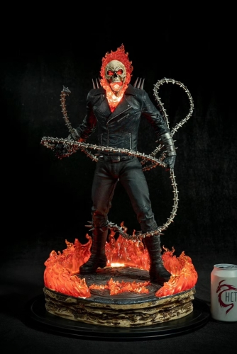 (Pre-order Closed)Ghost Rider Custom Statue By Last Level