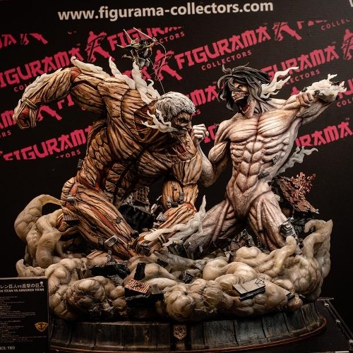 (Sold out)Attack on Titan 1/3 Scale Statue By Figurama