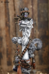 (Released)Steampunk Snow Leopard By Mitsuji Kamata x Manas SUM