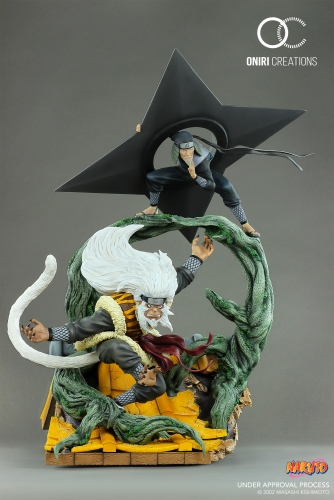 (Pre-order)Naruto: Sandaime Hokage The Last Fight 1/6 Scale Statue By Oniri Creations