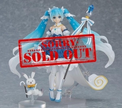 (Sold out)Maxfactory Snow Miku Snow Prin cess ver. Figma