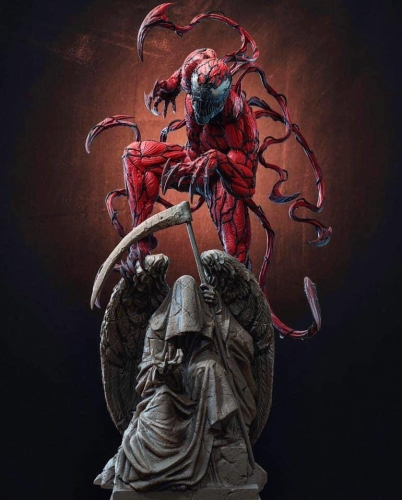 (Pre-order Closed)Custom statue Carnage By ATF