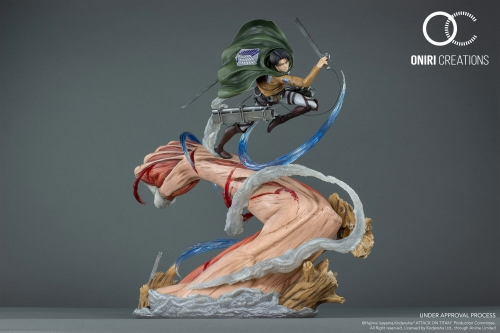 (Pre-order)Oniri Creations Levi VS Female Titan 1/6 Scale Statue