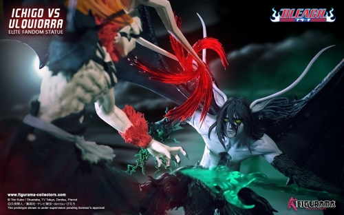 (Sold out)Bleach: Ichigo vs Ulquiorra Elite Fandom 1/6 Scale Statue By Figurama