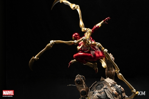 (Pre-order Closed)Iron Spider 1/4 Scale Statue By XM Studio