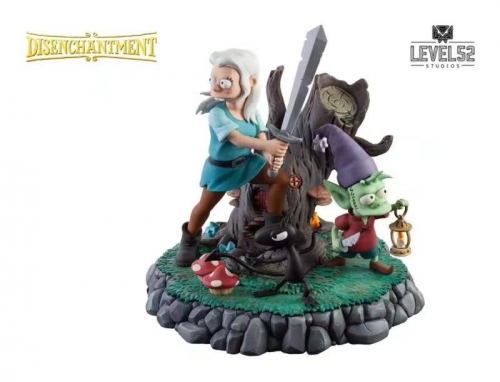 (Pre-order)Netflix DISENCHANTMENT 1/8 Scale Statue by LEVEL52 Studios