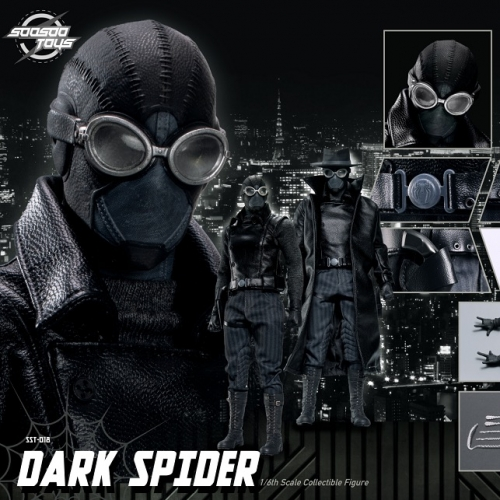 (Pre-order Closed)Soosootoys Dark Spider 1/6 Scale Action Figure
