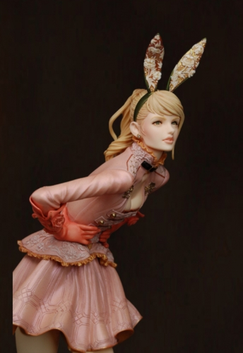 (Pre-order)Bunny Balmain Official Painted Statue By Michiru Imai Wonder Festival 2020