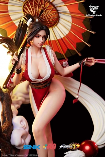 (Pre-order)The King of Fighters XIV Mai Shiranui 1/4 Scale Licensed Statue by TriEagles Studio