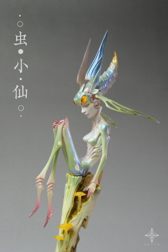 (Pre-order)Insect Fairy Painted Artwork By SAZEN
