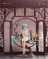 (Pre-order)Myethos Vocaloid Hatsune Miku Chinese Dress ver. 1/7 Figure (Inc. swappable hands ver.)