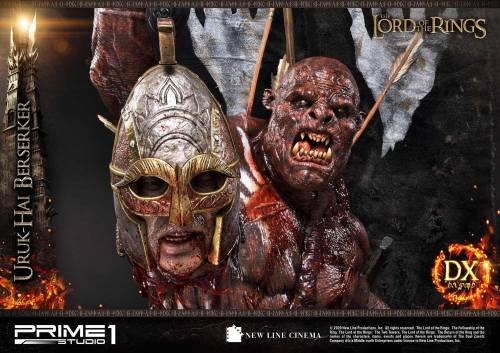 (Pre-order)Deluxe Ver. The Lord of the Rings: The Two Tower Uruk-Hai Berserker