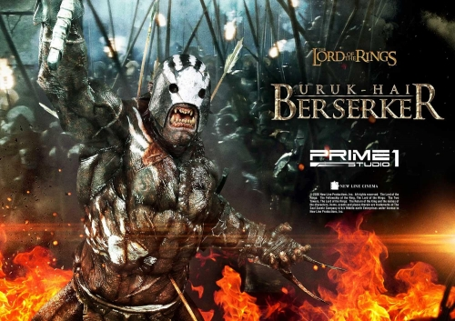 (Pre-order)Regular Ver. The Lord of the Rings: The Two Tower Uruk-Hai Berserker