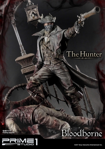 (Sold Out)Exclusive Ver. Bloodborne The Hunter UPMBB-02 By Prime 1 Studio