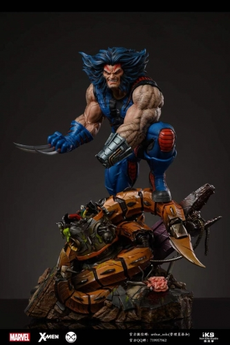 (Pre-order)X-Men Wolverine 1/4 Scale Licensed Statue By Iron Kite Studio