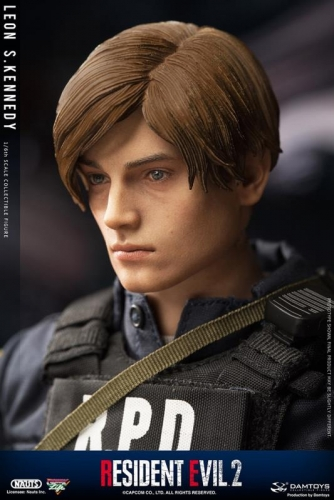 (Pre-order)Leon Scott Kennedy Resident Evil 2 DMS030 Action Figure By NAUTS x Damtoys
