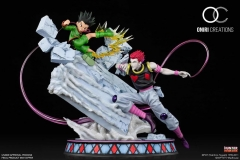 (Pre-order)Gon VS Hisoka - Battle at the Heavens Arena Hunter x Hunter 1/6 Scale Statue By Oniri Creations