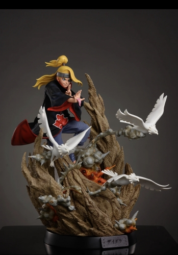 (Release soon)Naruto Deidara 1/4 Scale Statue by Iron Kite Studio