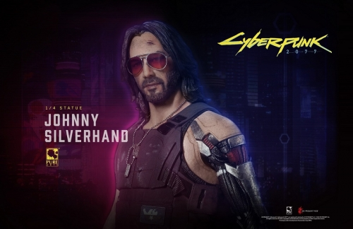 (Pre-order)Cyberpunk Johnny Silverhand Regular 1/4 Statue By Purearts