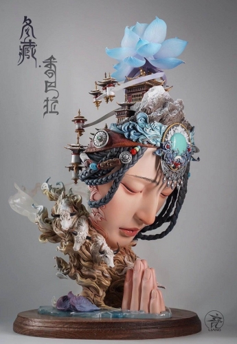 (Pre-order Closed)The Winter Tibet Artwork by Yuan Xingliang (Painted)(Pre-order Due on 6th October)