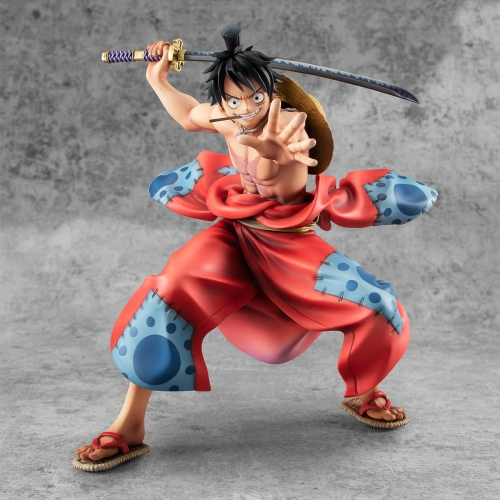 (In Stock)Megahouse One Piece Warriors Alliance Luffy Tarou Portrait of Pirates Figure