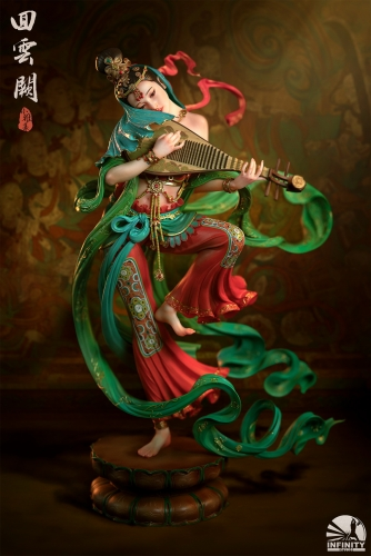 (Pre-order)Elegant Beauties Dancer of Cloud Palace Statue By Infinity Studio