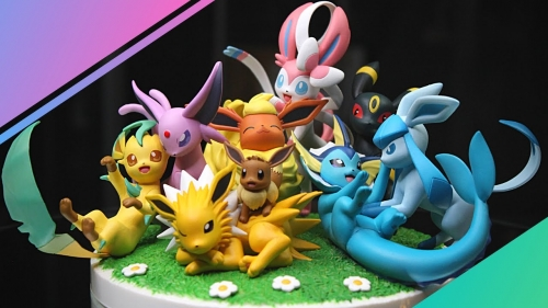(Sold out)Megahouse G.E.M. EX Series Pokemon Eevee Friends Figures