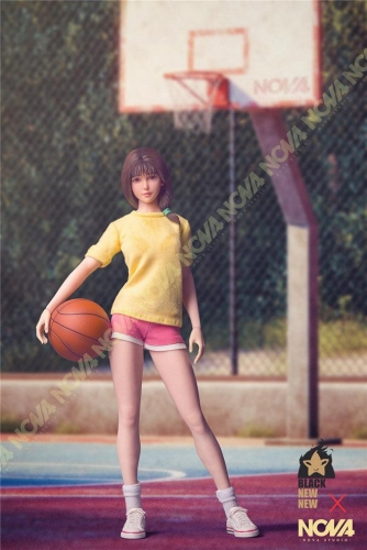 (Pre-order)Slam Dunk Akagi Haruko 1/6 Scale Action Figure Sport Version By NOVA STUDIO x BNN STUDIO