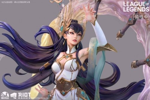 (Sold out)League of Legends Irelia The Blade Dancer Licensed Statue By Infinity Studio (Exclusive Bonus with Mouse Pad)