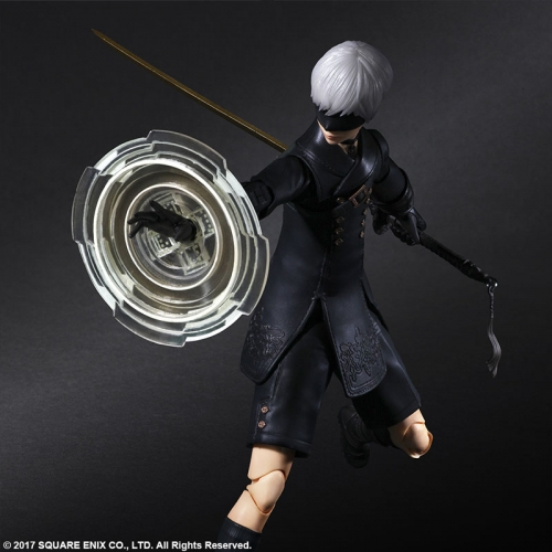 (Pre-order)Square Enix NieR:Automata PLAY ARTS Kai [YoRHa No.9 Type S] Action Figure