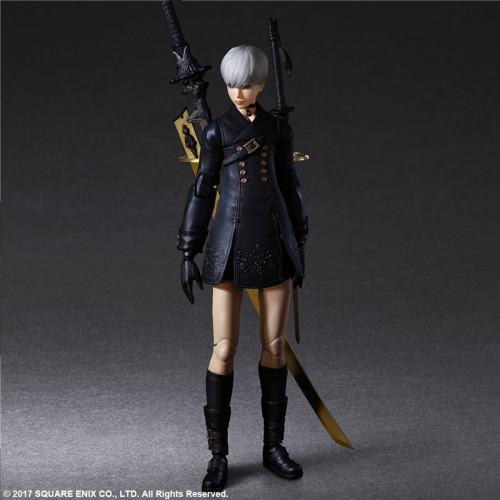 (Pre-order)Square Enix NieR:Automata PLAY ARTS Kai [YoRHa No.9 Type S DX Edition]