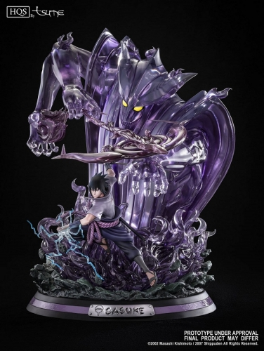 (Pre-order)Sasuke Uchiha Summon of Susanoo 1/8 Scale Statue By Tsume Art (AU only)
