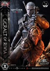(Pre-order)Deluxe Version The Witcher 3: Wild Hunt Geralt of Rivia By Prime 1 Studio