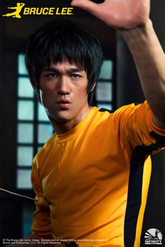 (Pre-order)Game of Death BruceLee 1/1 Scale Bust Statue By Infinity Studio