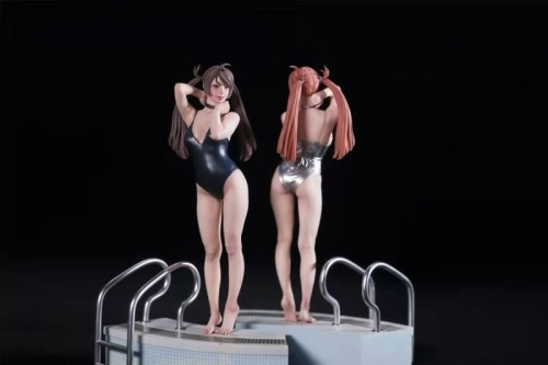 (Pre-order)Sukumizu Girl 1/6 Scale Statue By TOOTH FAIRY STUDIO(This work has been applied for copyright and design patent)