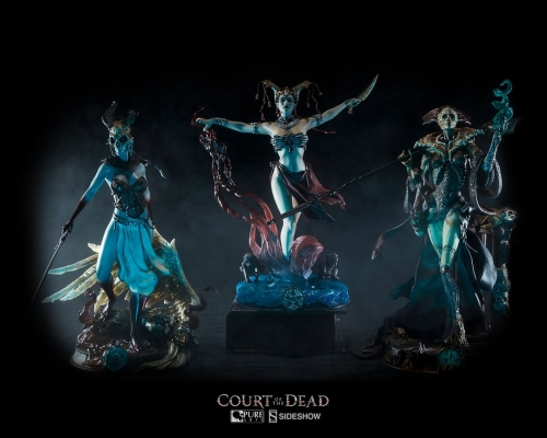 (Pre-order)COURT OF THE DEAD Gethsemoni & Xiall & Kier (Set of 3) 1/8 PVC Statue By PureArts