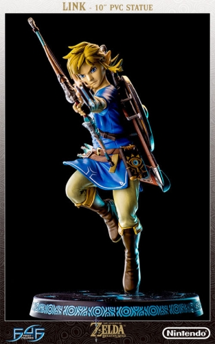 (Pre-order)First 4 Figures The Legend of Zelda: Breath of the Wild / Link 10 Inch PVC Statue(Resale)
