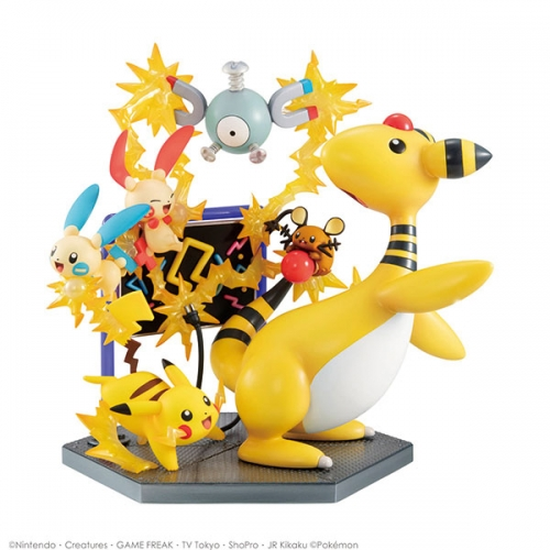 (Pre-order)Megahouse G.E.M. EX Series Pokemon Electric Type Electric power Figure