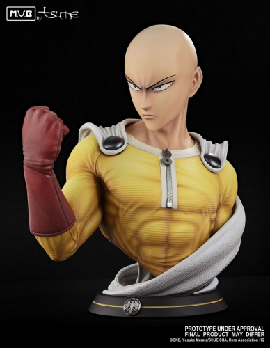 (Pre-order)Saitama Bust One Punch Man 1/1 Scale Statue By Tsume Art