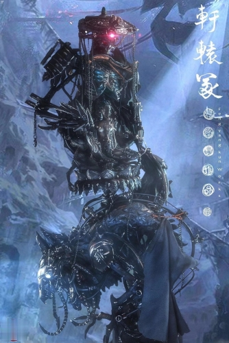 (Pre-order)ONE-OFF Xuanyuan Grave Cyberpunk Ver. By Feng Yangkun(Handmade by the artist)