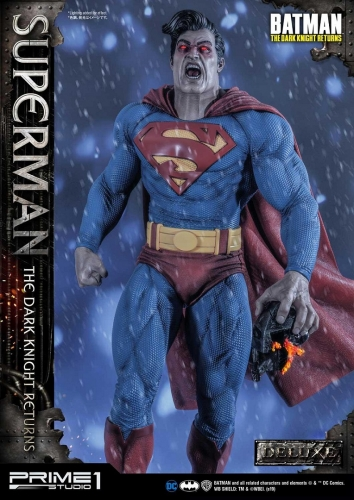 (Sold out)Deluxe Version Batman:The Dark Knight Returns Superman 1/3 Scale Statue By Prime 1 Studio