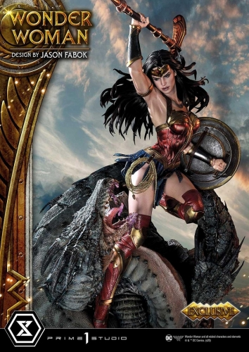 (Pre-order)Exclusive Wonder Woman versus Hydra (Concept Design By Jason Fabok) By Prime 1 Studio