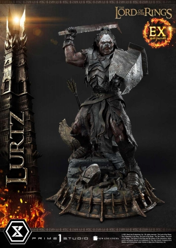 (Pre-order)Exclusive Version The Lord of the Rings Lurtz 1/4 Scale Statue By Prime 1 Studio